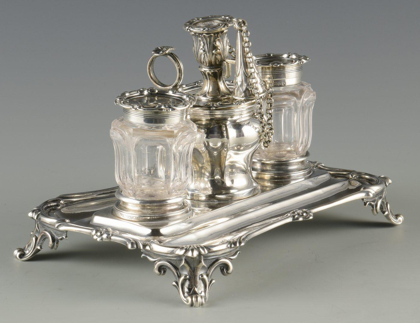 Lot 59: English Sterling Standish, 1835