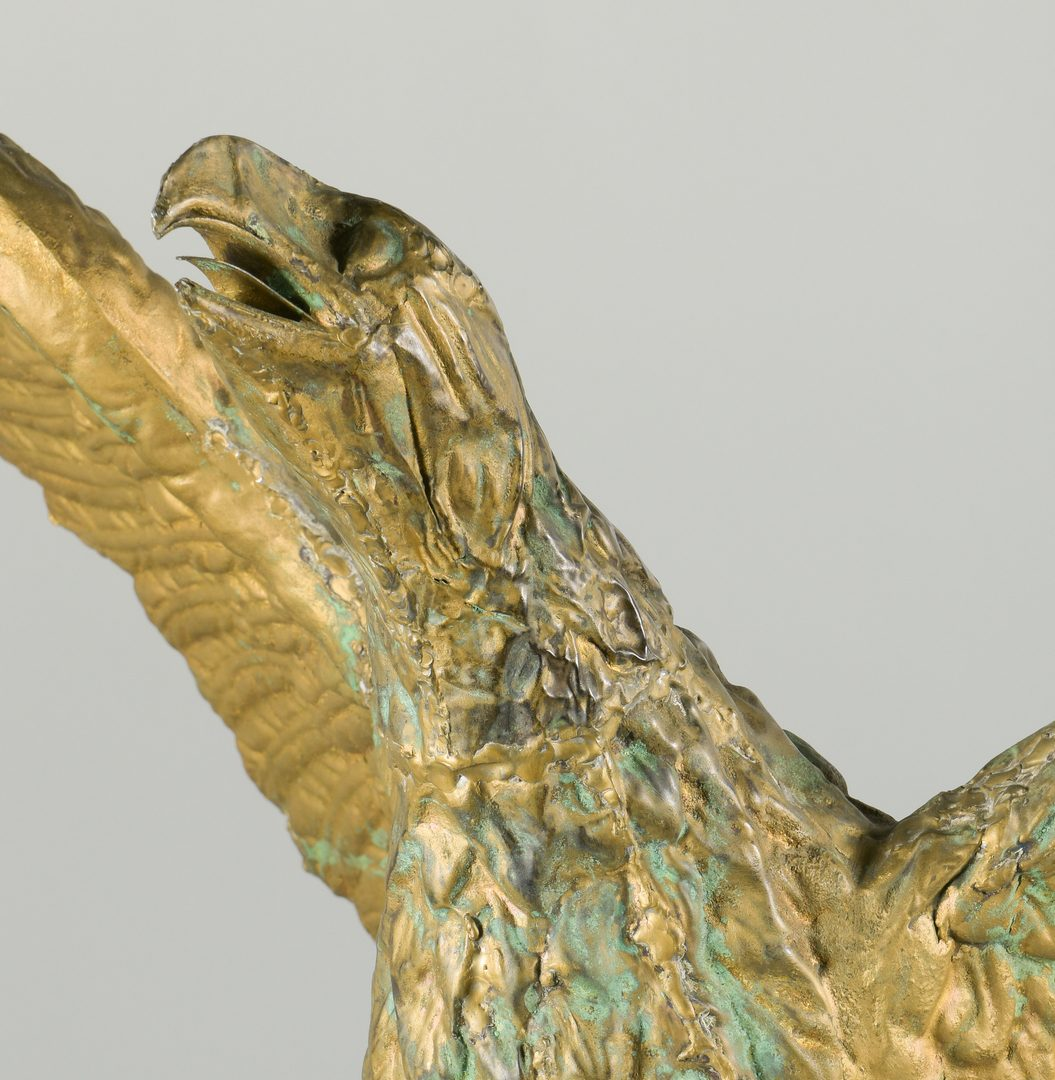 Lot 628: Eagle Weathervane w/ Ebonized Base