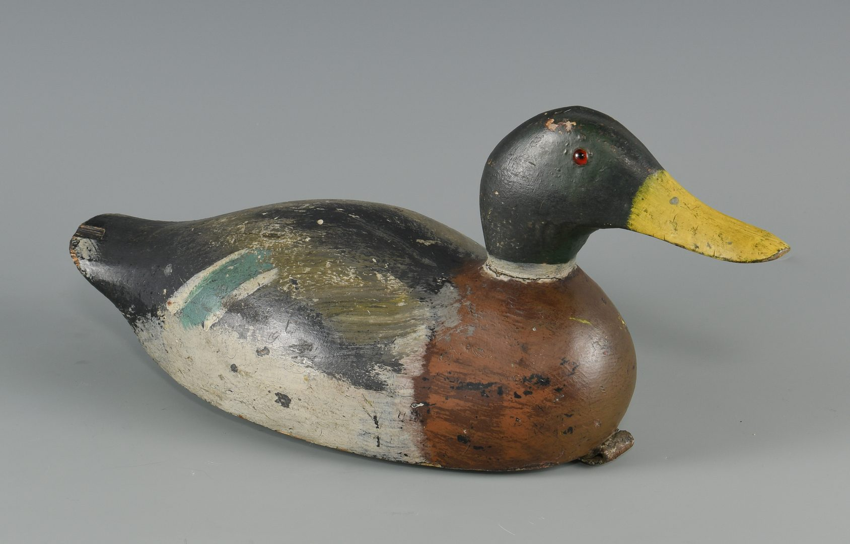 Lot 634: 2 Carved Duck Decoys