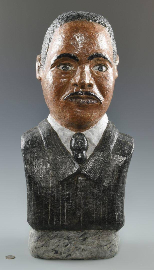 Lot 640: Tim Lewis Sculpture of MLK