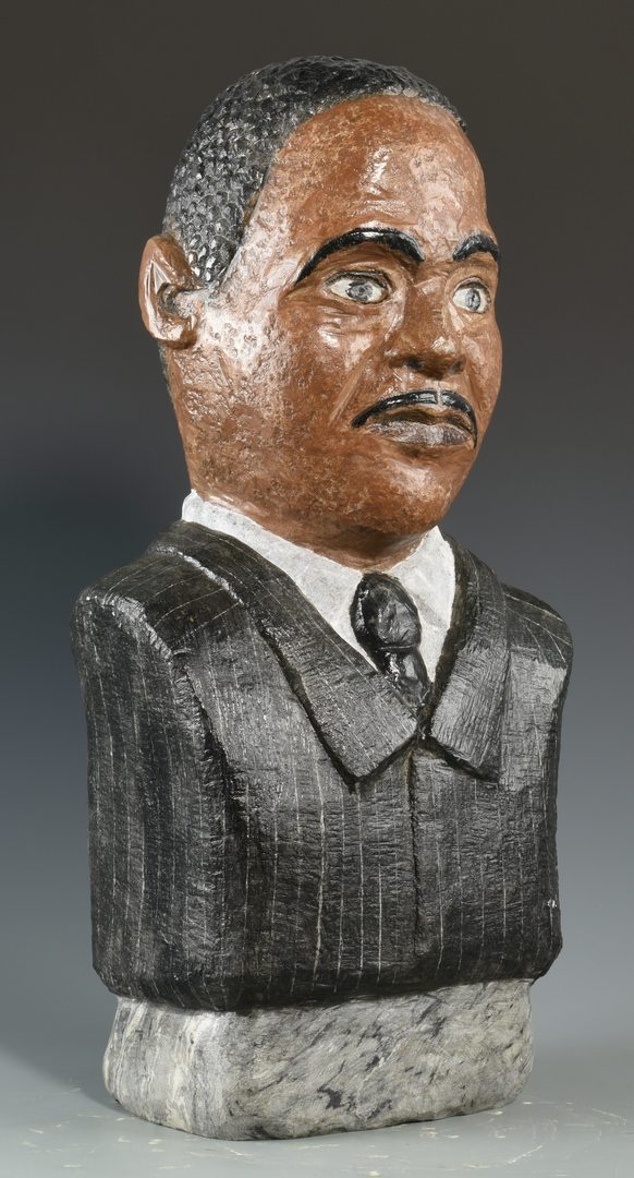 Lot 640: Tim Lewis Sculpture of MLK