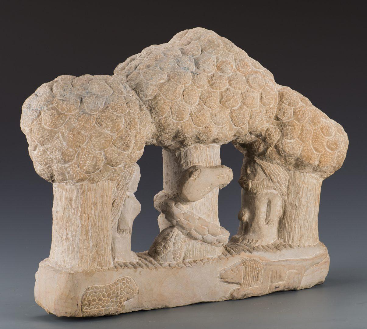 Lot 641: Tim Lewis Adam & Eve Sculpture