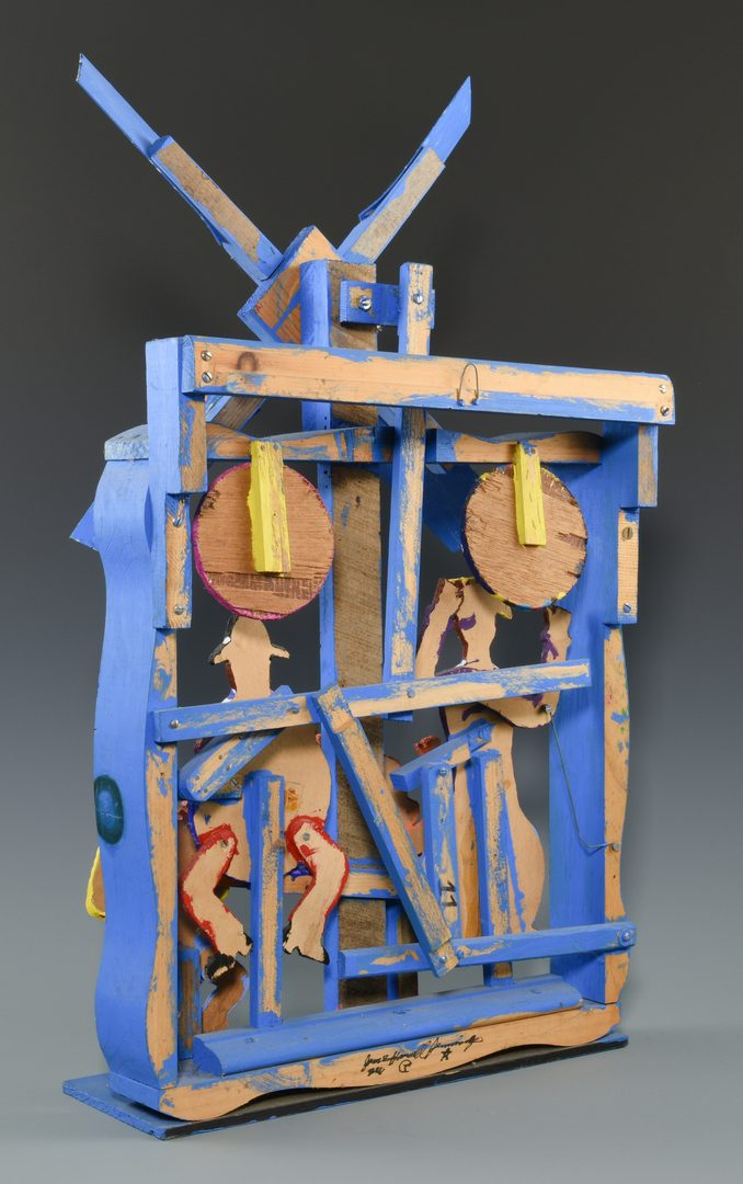 Lot 648:  James Harold Jennings Whirligig and Crown