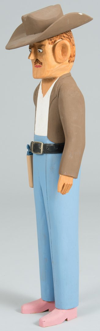 Lot 651: Sulton Rogers Carving, Cowboy