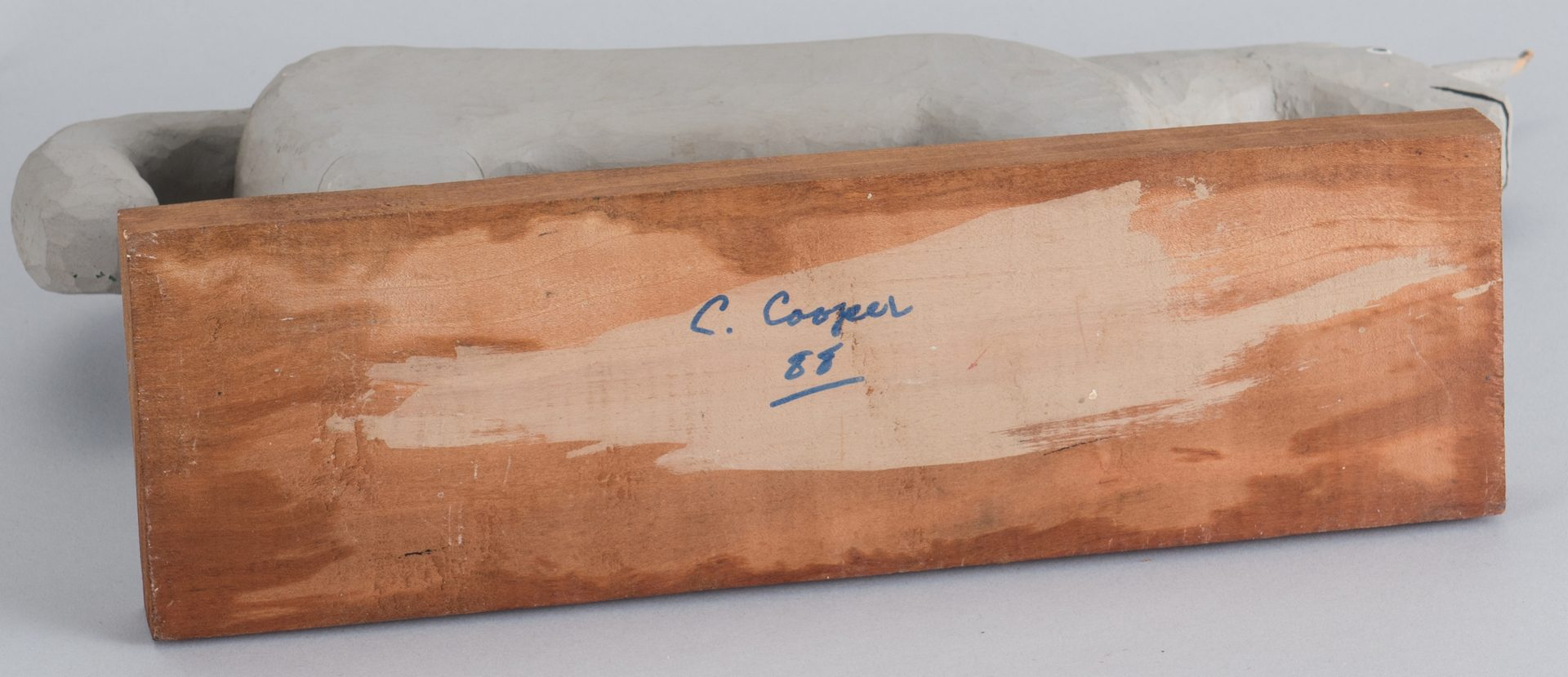 Lot 664: 3 Calvin Cooper Folk Art Carvings