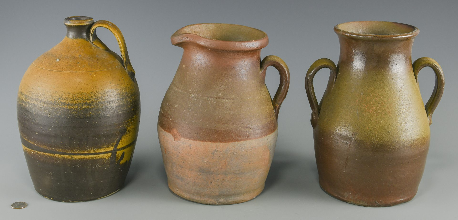 Lot 677: 3 Middle TN Pottery Items