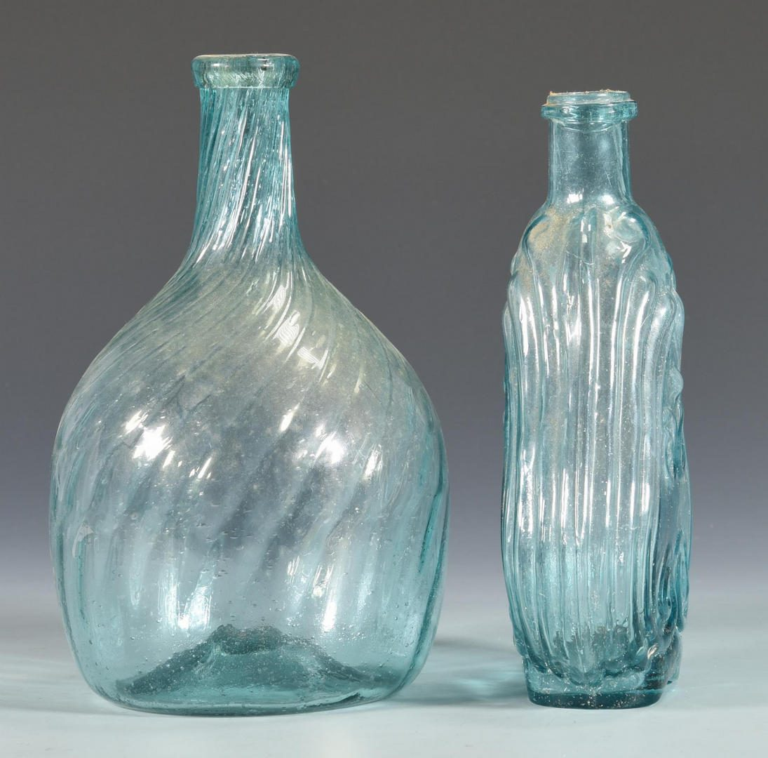 Lot 680: 6 Early American Glass Items