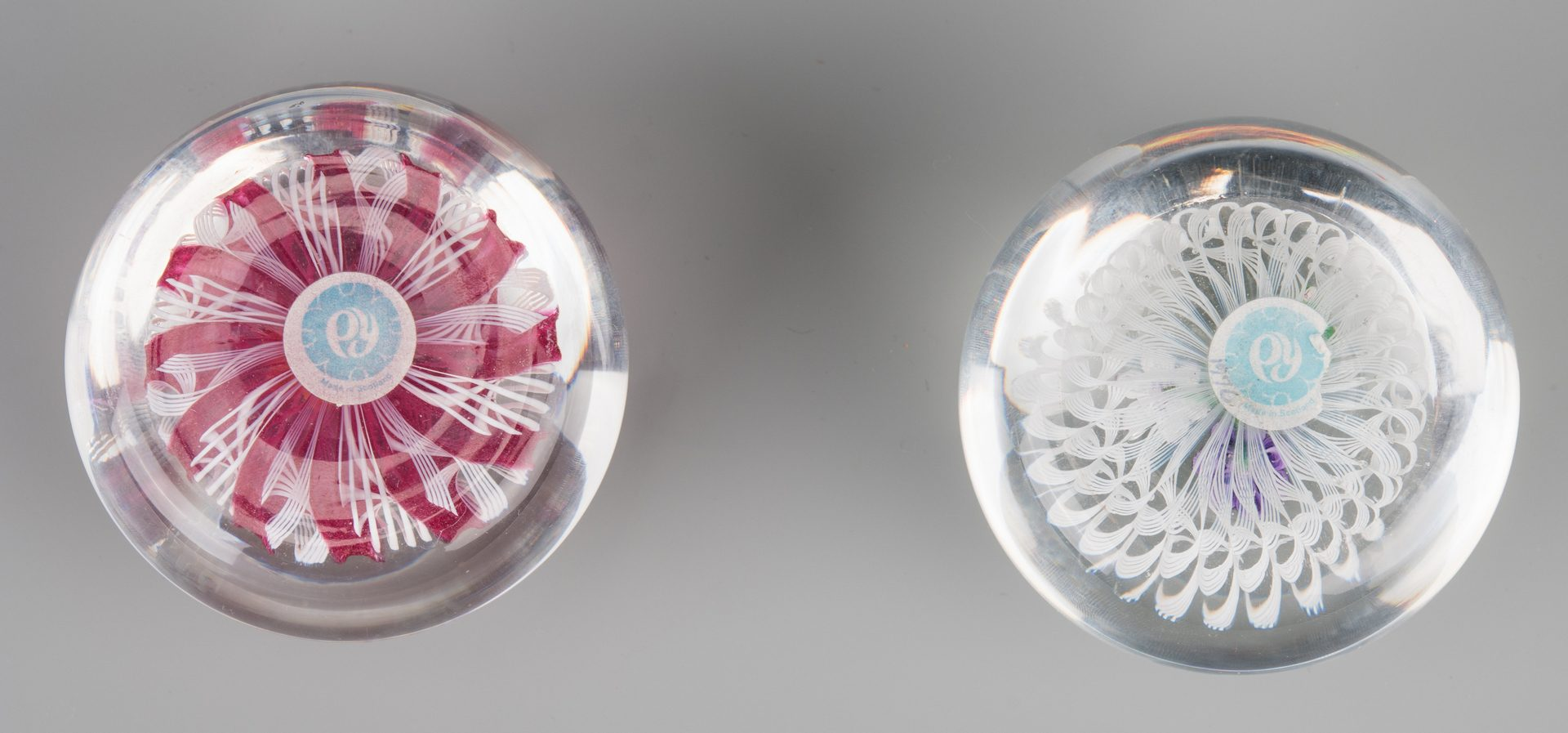 Lot 685: 2 Paul Ysart Paperweights