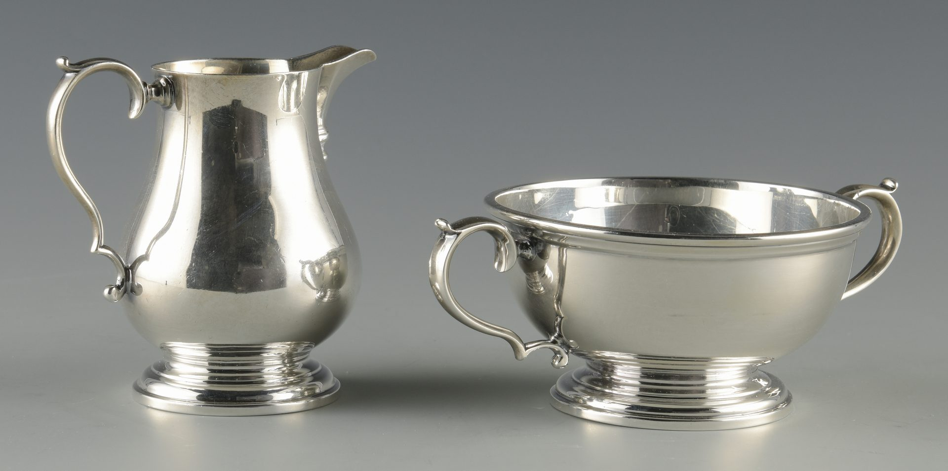 Lot 68: English Sterling  Tea Service, Adie Bros.