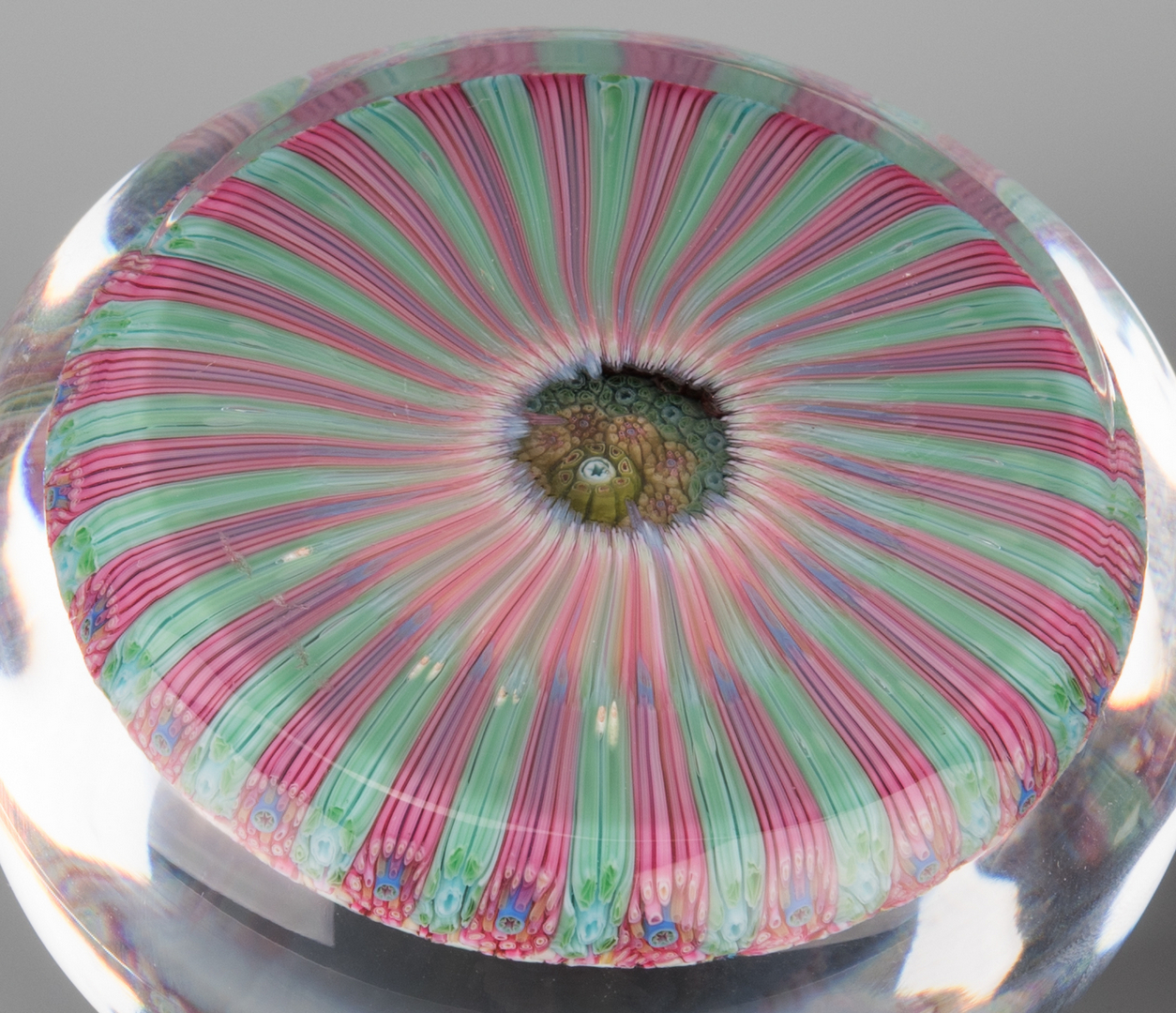 Lot 691 2 Baccarat Paperweights 1968
