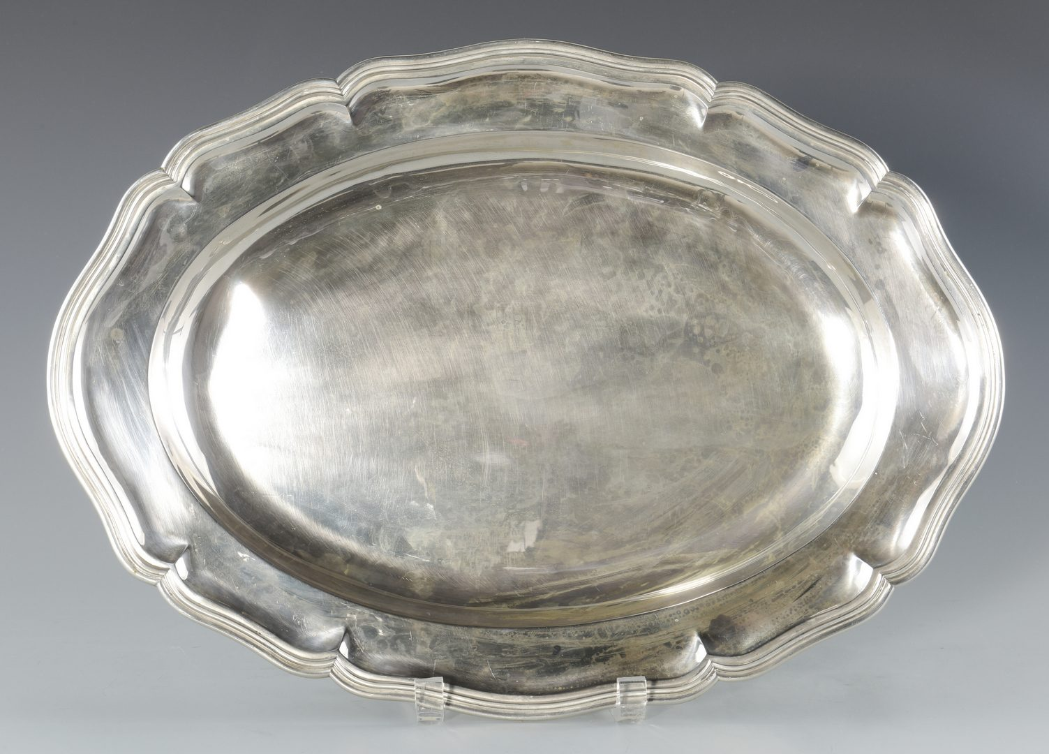 Lot 69: Continental .800 Silver Platter