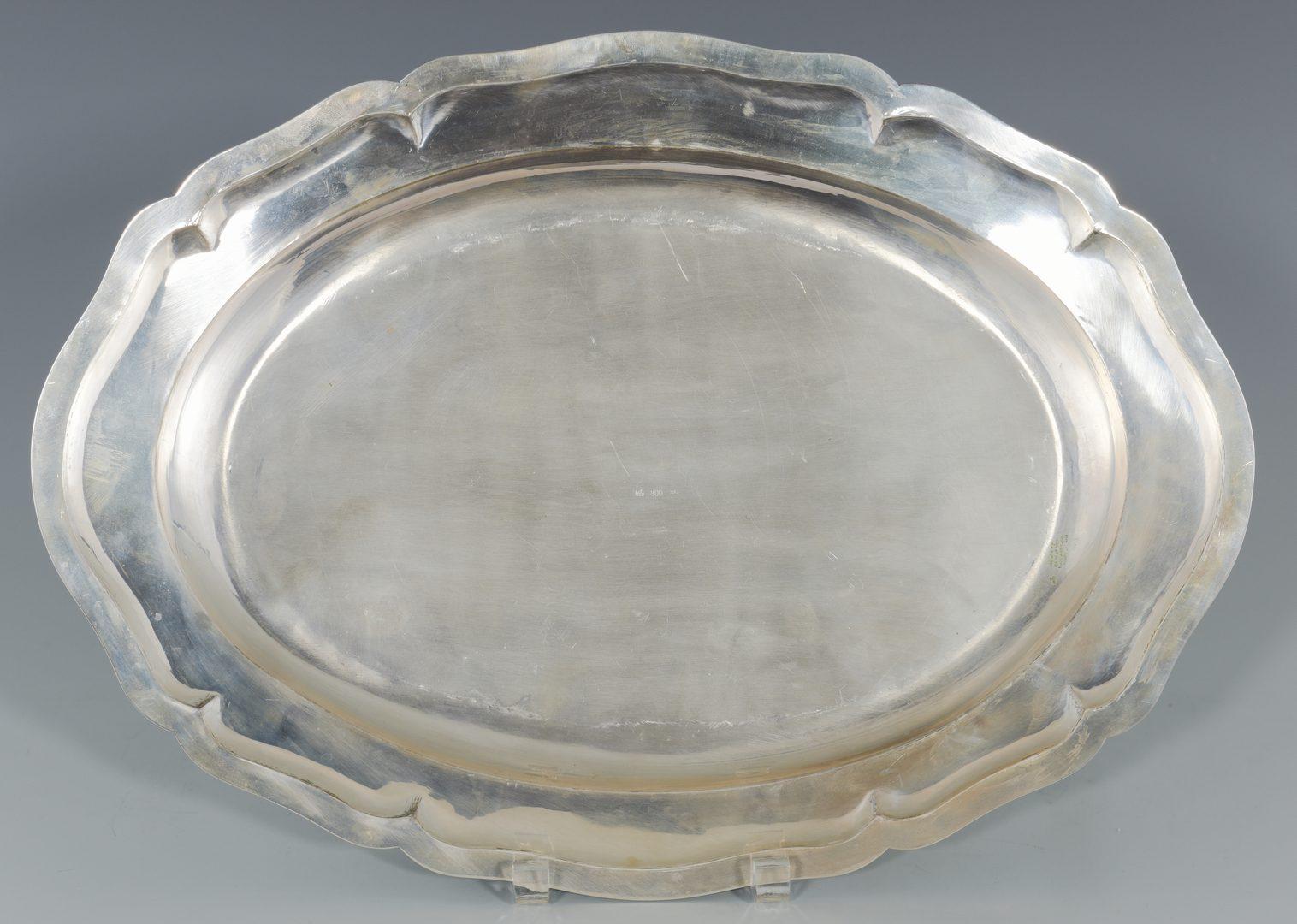 Lot 69: Continental .800 Silver Platter