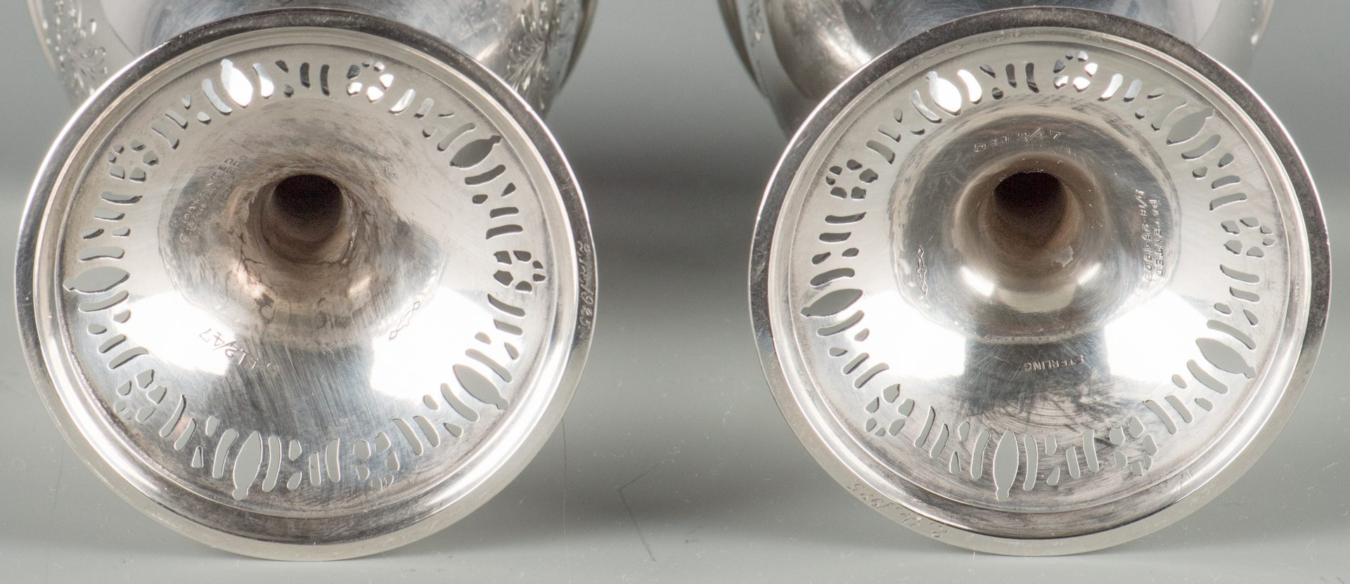 Lot 70: 12 Sterling Silver Goblets, Graff, Washbourne & Dunn