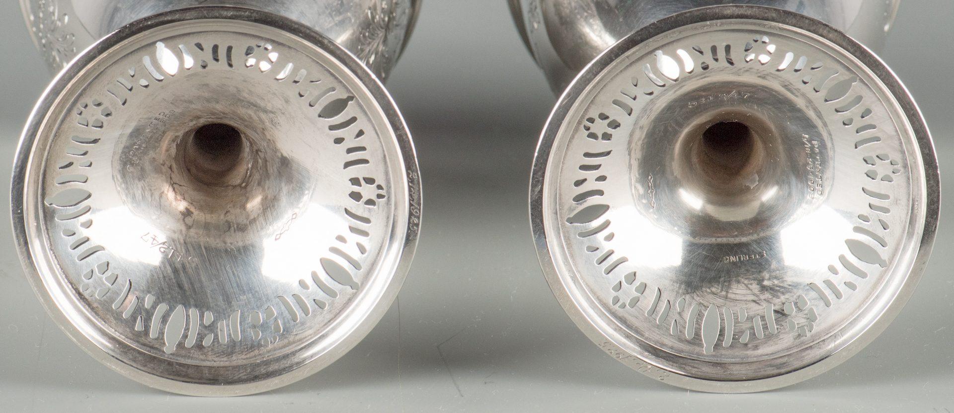 Lot 70: 12 Sterling Silver Goblets, Graff, Washbourne & Dunn