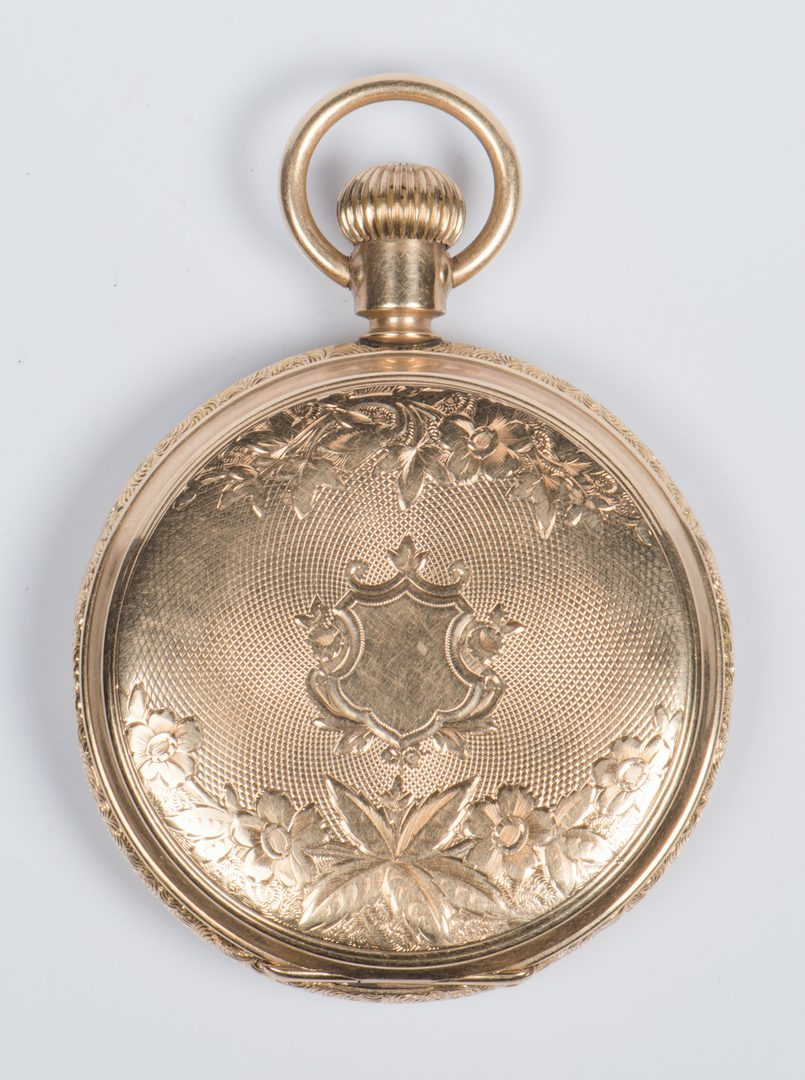 Lot 725: 14K Elgin Hunting Case Pocketwatch