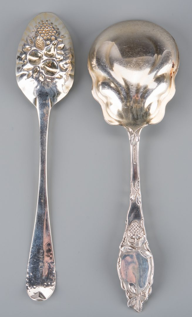 Lot 739: 12 pcs Collectible Silver Flatware