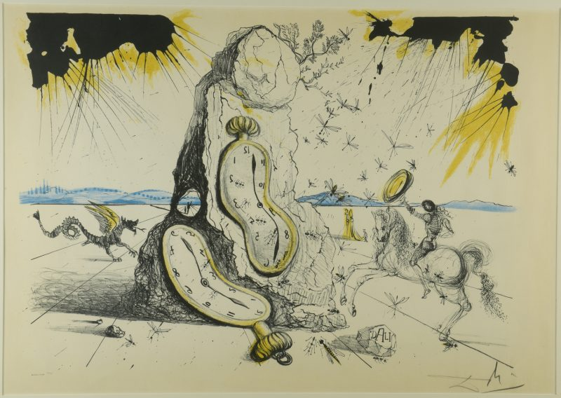 Lot 762: Salvador Dali Lithograph