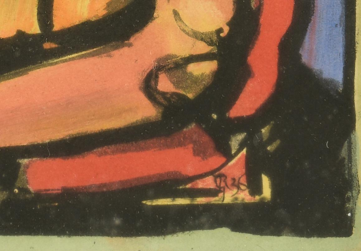 """Lot 768: George Rouault Aquatint """"Ecce Homo"""""""