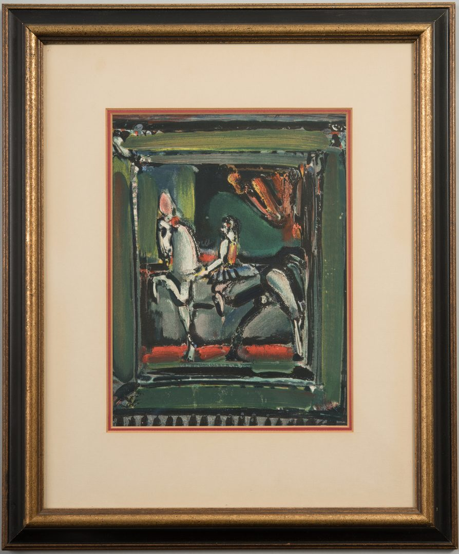 Lot 769: George Rouault Lithograph