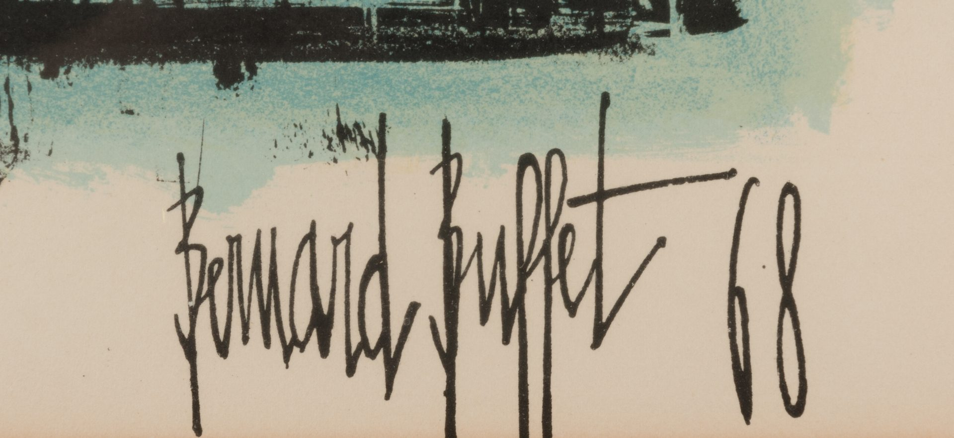 Lot 771: 3 Bernard Buffet Lithographs