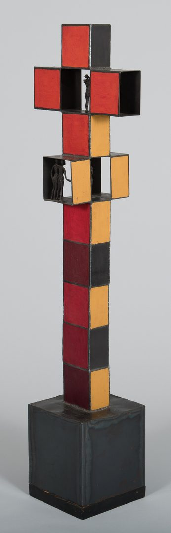 Lot 775: Mid-Century Brutalist Sculpture