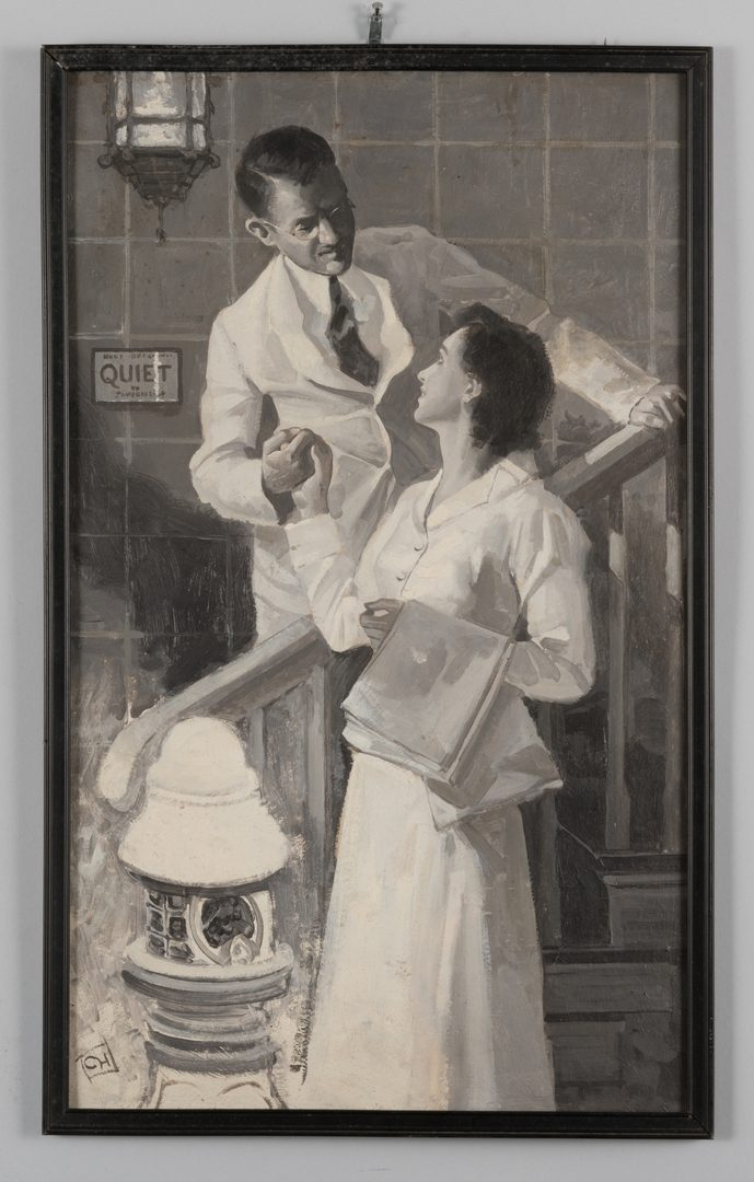 Lot 780: 3 Charles Hargens Illustration Oils