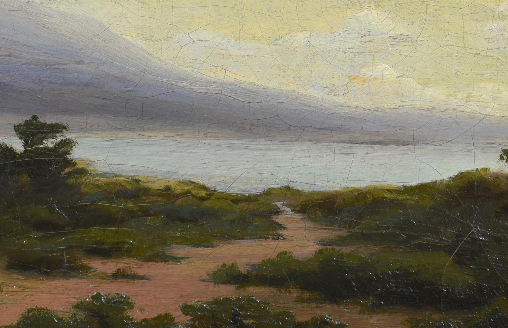 Lot 786: Arthur Vachell Oil on Canvas Landscape