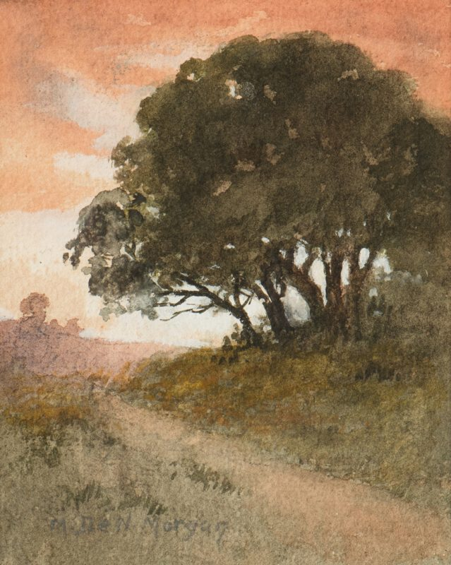 Lot 787: Mary DeNeale Morgan Watercolor