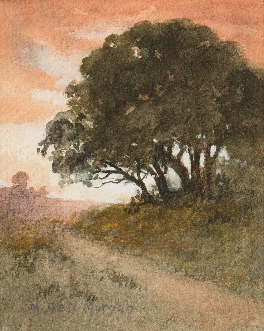 Lot 787: Mary DeNeale Morgan Watercolor