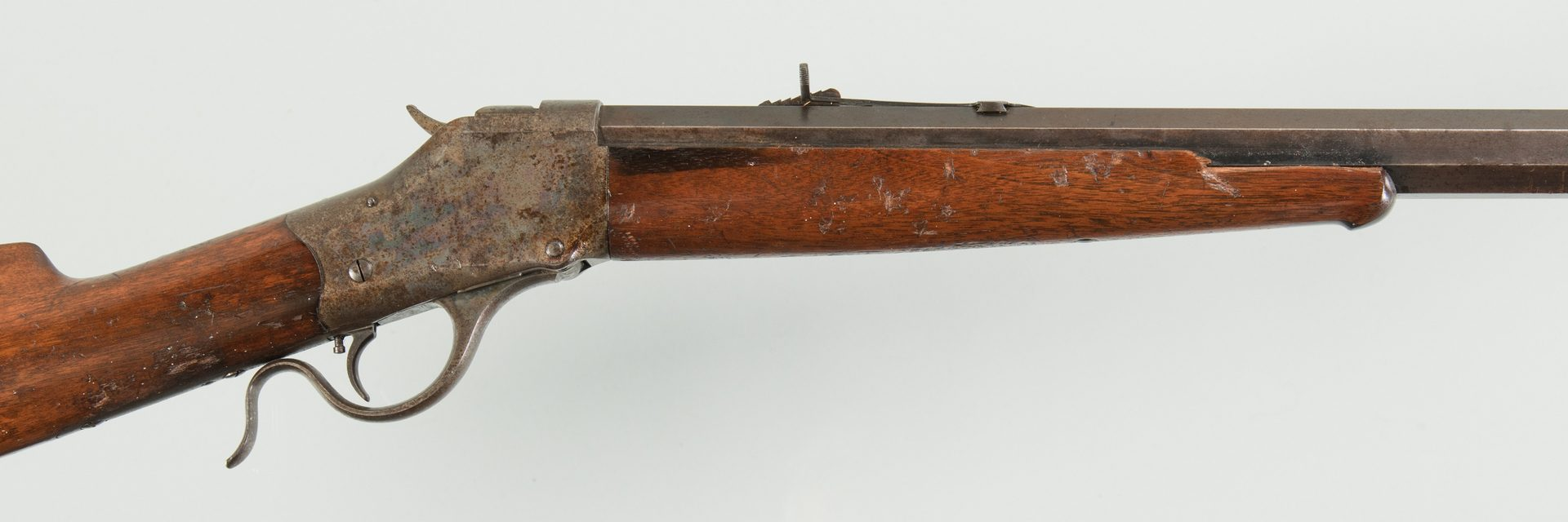 Lot 792: Winchester Model 1885 Single Shot Falling Block
