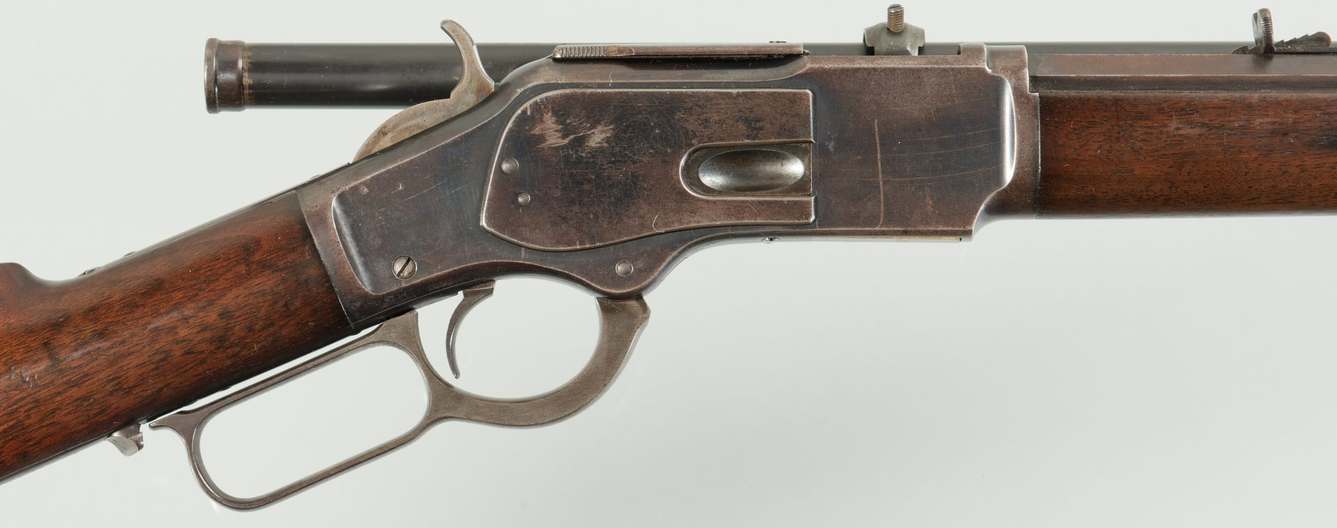 Lot 793: Winchester Model 1873 Lever Action Rifle 32-20.
