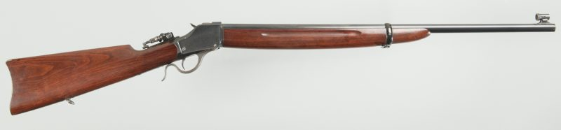 Lot 794: Winchester 1885 Single Shot, Falling Block Hi-Wall