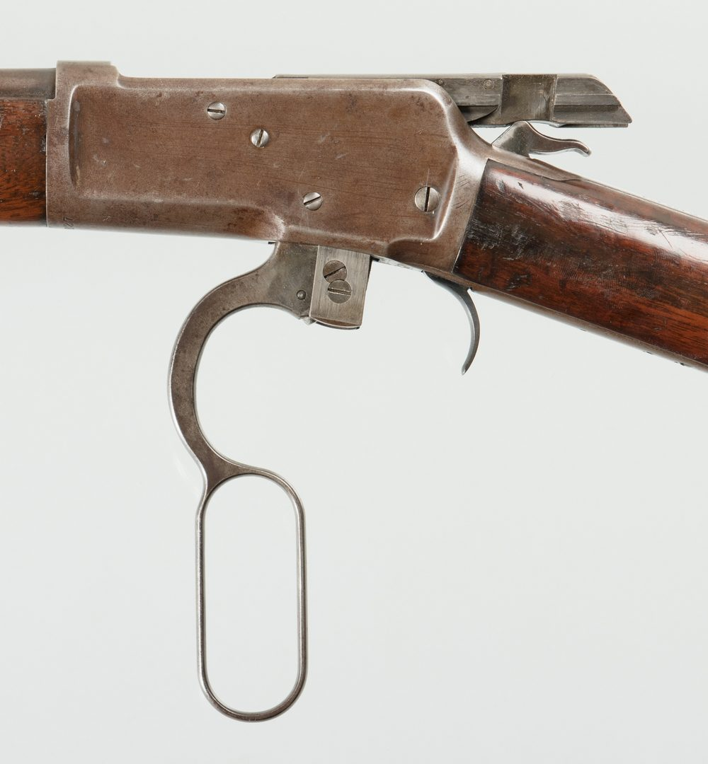 Lot 799: Winchester Model 1892, 32 WCF Action Rifle