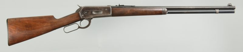 Lot 804: Winchester Model 1886 Lightweight Rifle .33 Win