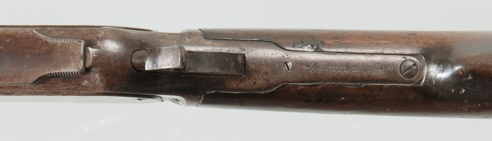 Lot 807: Winchester Model 1876, 40-60 Win Lever Action Rife