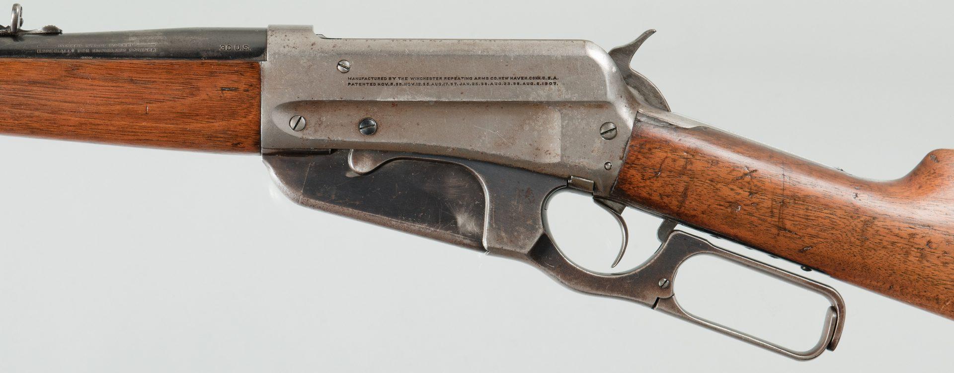 Lot 808: Winchester Model 1895, 30-40 Krag Lever Action Rif