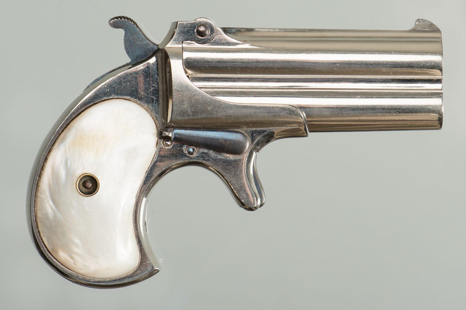 Lot 811: Remington Over & Under Derringer
