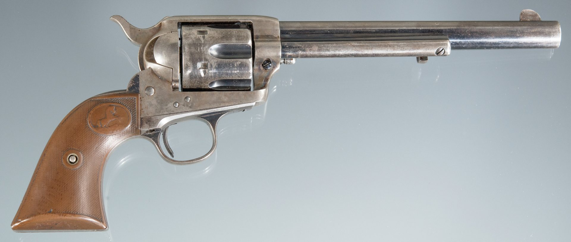 Lot 812: Colt Single Action Army Revolver, 38-40 Win