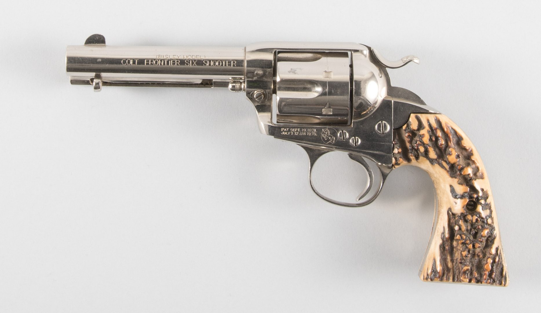 Lot 813: Colt Bisley Frontier Six Shooter, 44-40 Win Single