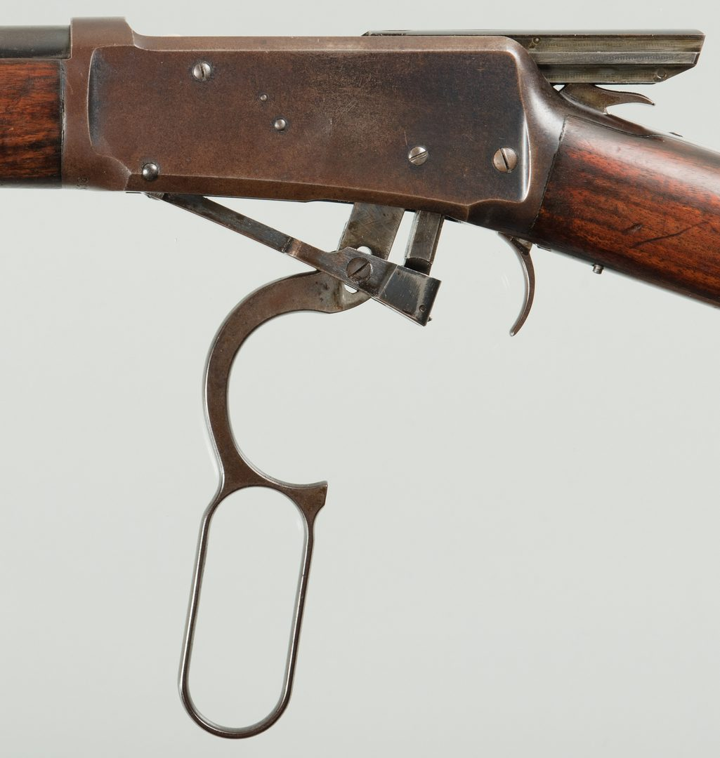 Lot 814: Winchester 1894 Lever Action Rifle, 25-35