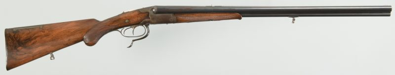 Lot 815: Krieghoff pre-War Drilling 16 over 9.72R.