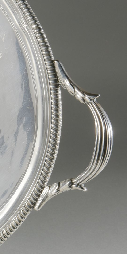 Lot 81: Heavy Sterling Tray, Caldwell of Phila.
