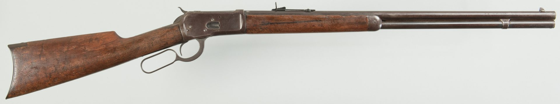 Lot 823: Winchester Model 1892, 38-40 Win Lever Action Rifle