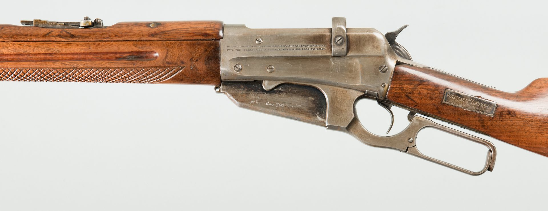 Lot 826: Winchester Model 1895 -7.62x54R Lever Action Rifle