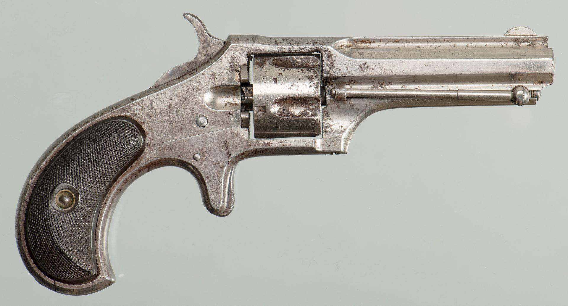 Lot 831: Remington Smoot Model #2 Five Shot Single Action, 40 Cal.
