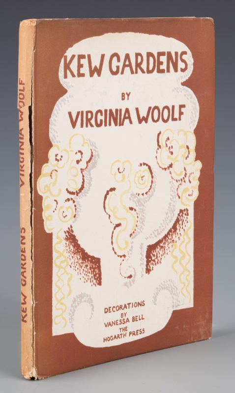 "Lot 849: Signed Limited Edition ""Kew Gardens"" by Viginia Woolf"