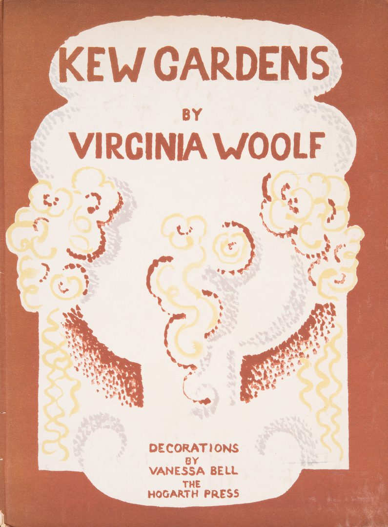 """Lot 849: Signed Limited Edition """"Kew Gardens"""" by Viginia Woolf"""
