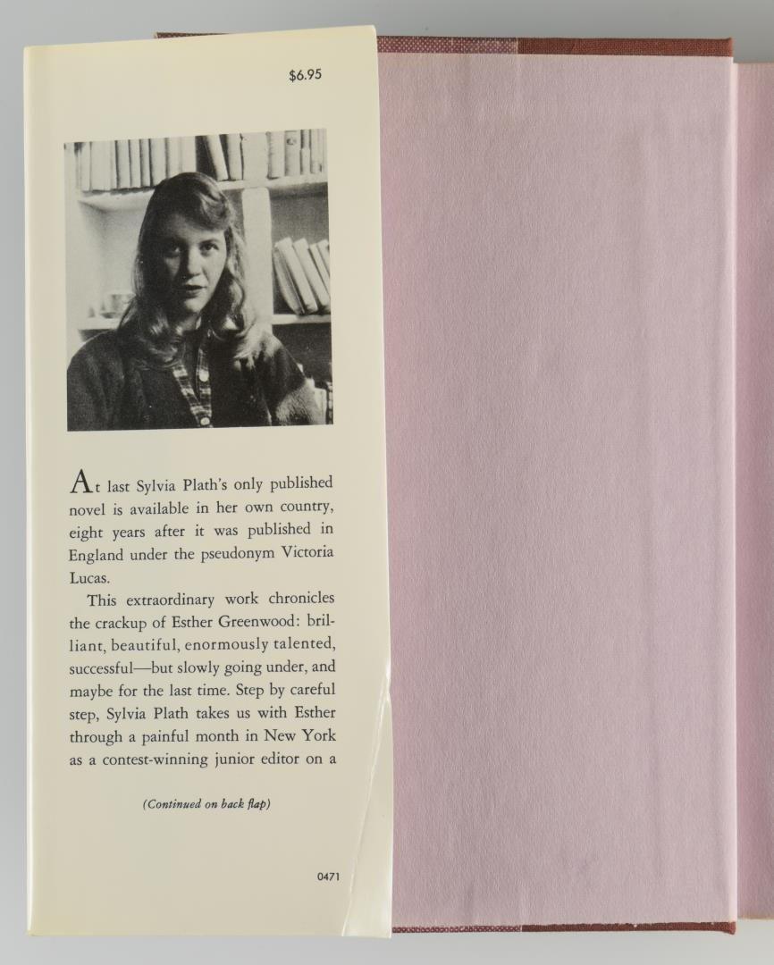 "Lot 854: Plath ""The Bell Jar,"" 1st American Ed."