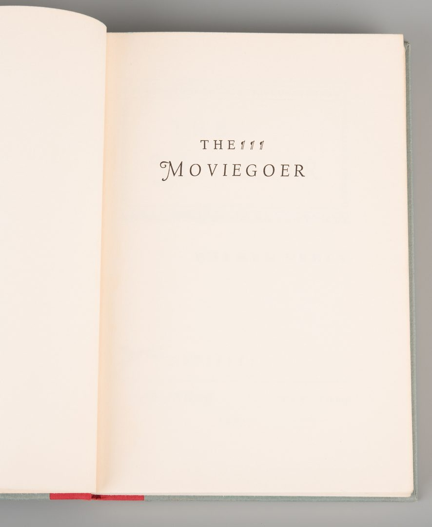 "Lot 856: Walker Percy ""The Moviegoer,"" 1st Edition"