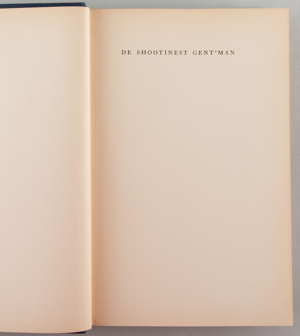 "Lot 857: ""De Shootinest Gent'man"" by Buckingham"